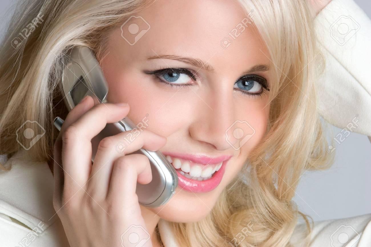 Closeup Phone Woman Stock Photo - 5066561