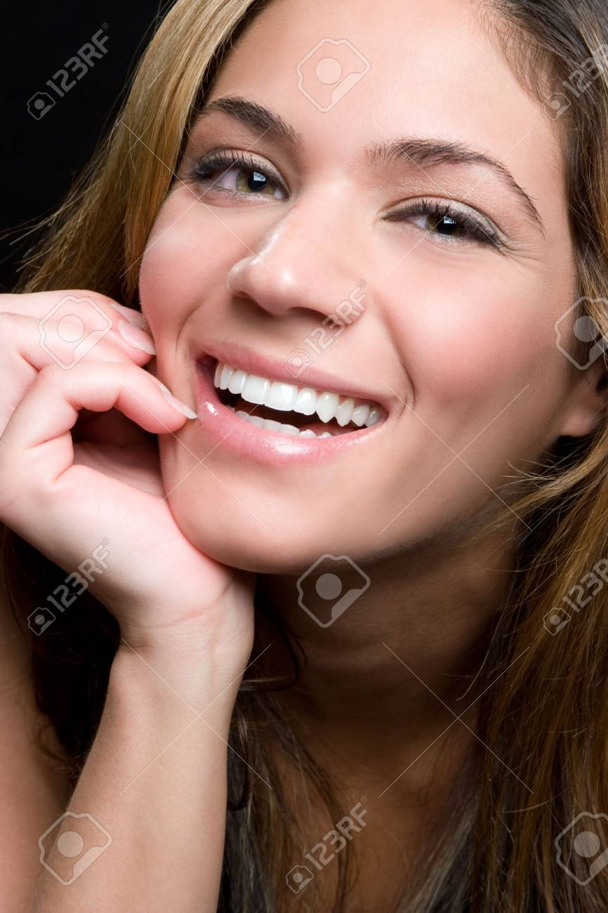 Laughing Young Woman Stock Photo - 5165504
