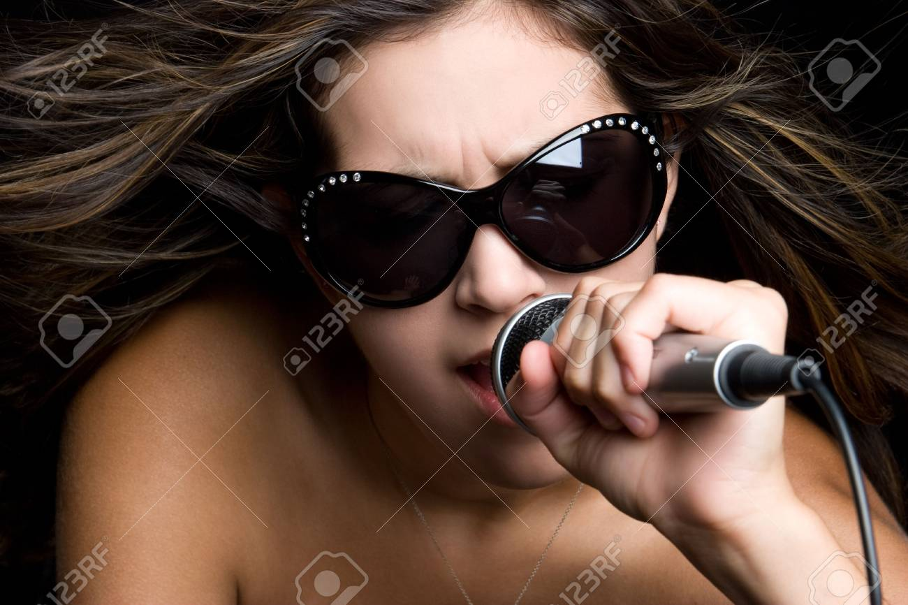 Rockstar Girl Stock Photo - 5273410