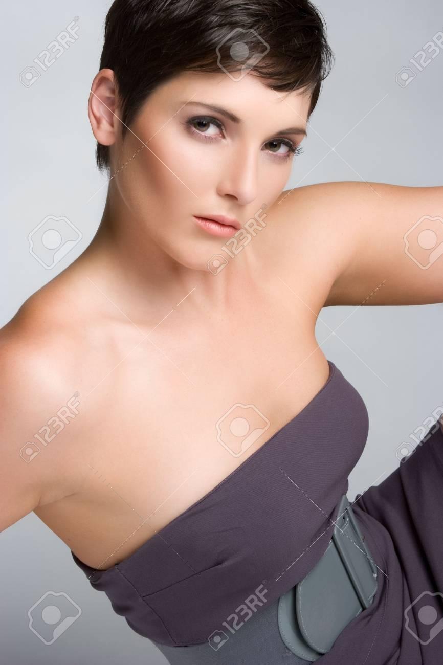 Fashion Woman Posing Stock Photo - 5372610
