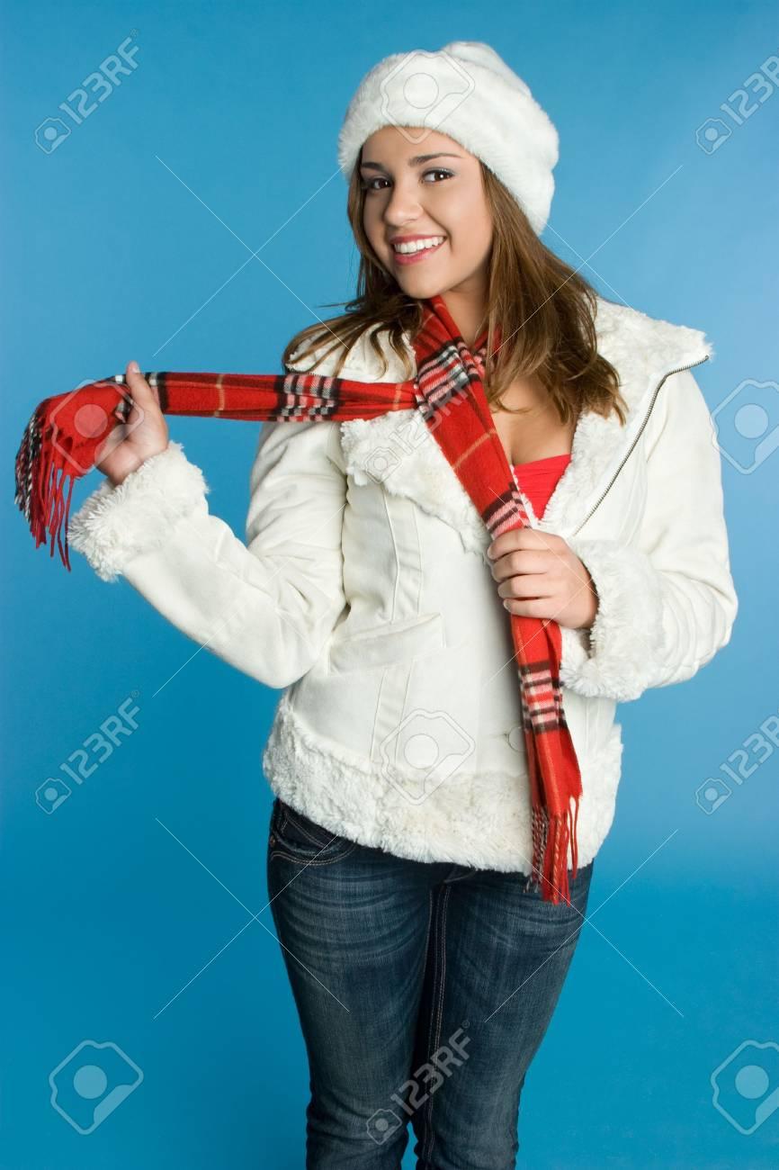 Winter Fashion Girl Stock Photo - 5704018