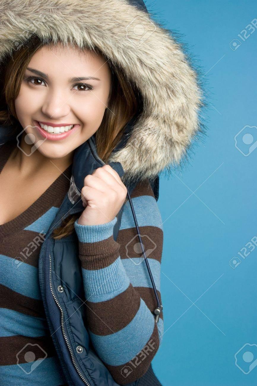 Happy Winter Teen Stock Photo - 5770629