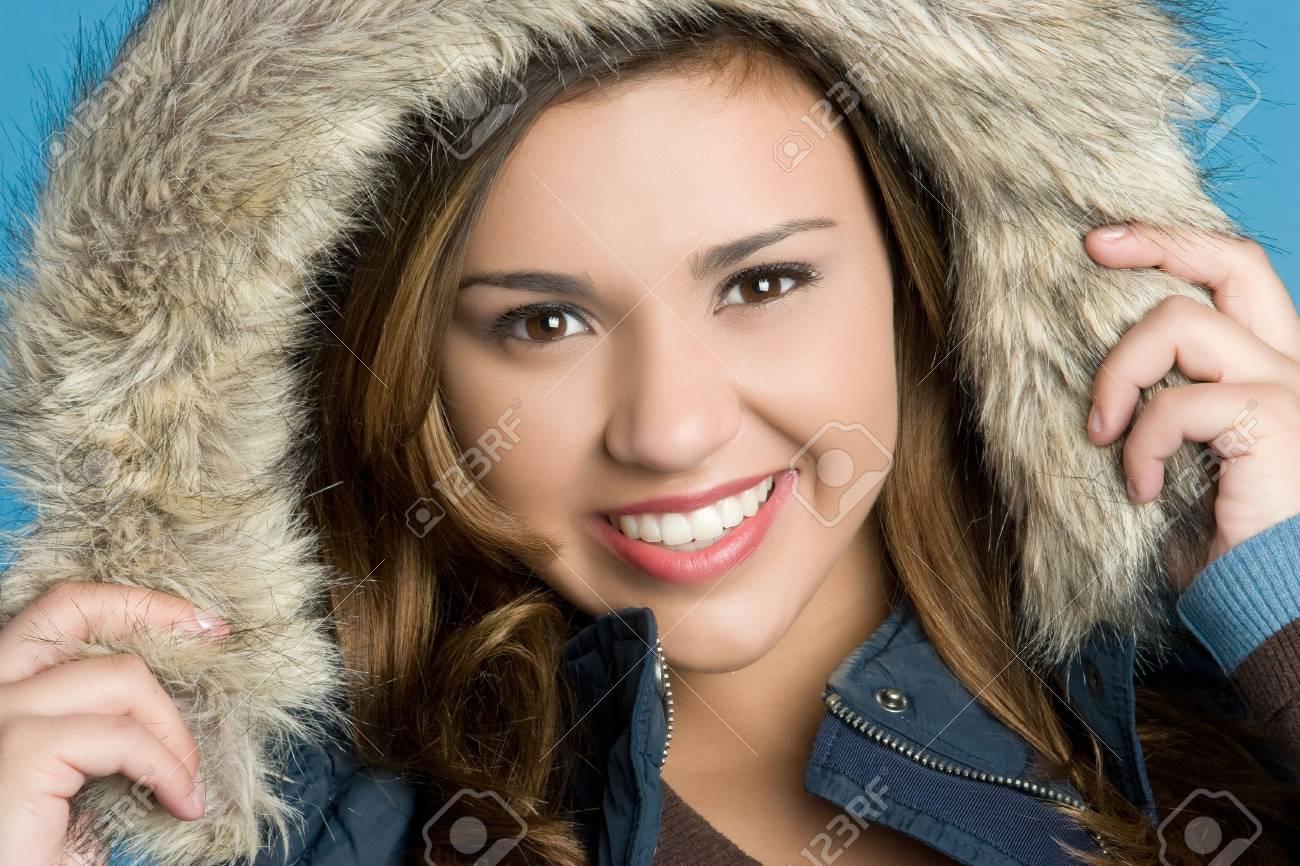 Smiling Winter Teen Stock Photo - 5770646