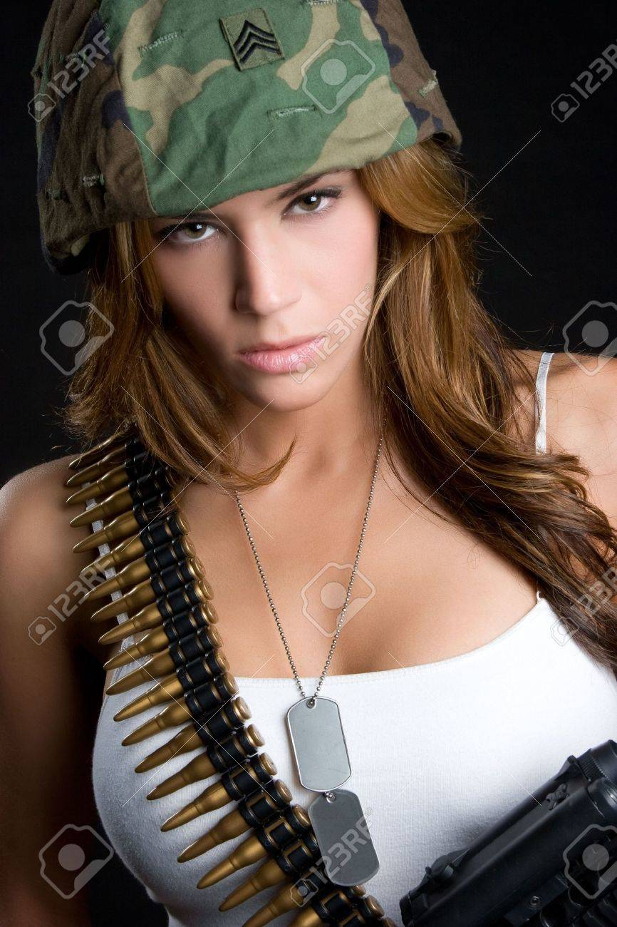 Female Soldier Stock Photo - 5844913