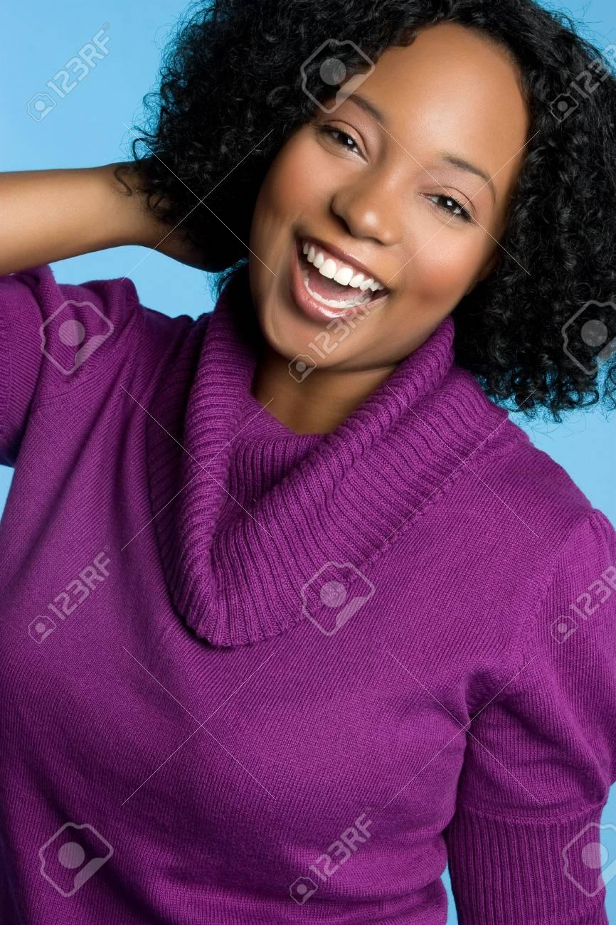 Beautiful Laughing Woman Stock Photo - 5931621