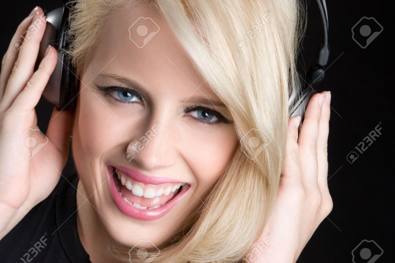 Girl Listening to Music Stock Photo - 6095006