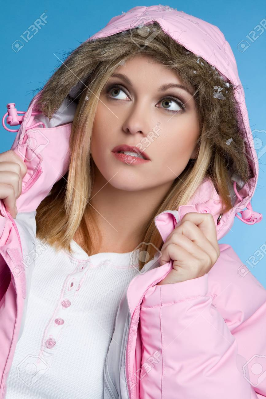 Beautiful Winter Woman Stock Photo - 6141492