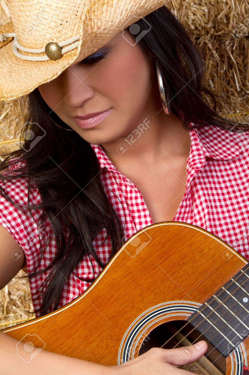 Country Music Woman Stock Photo - 6270690