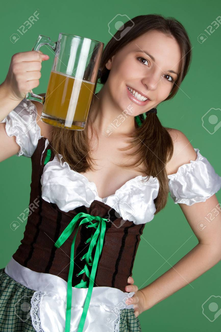 Beer Woman Stock Photo - 6385121