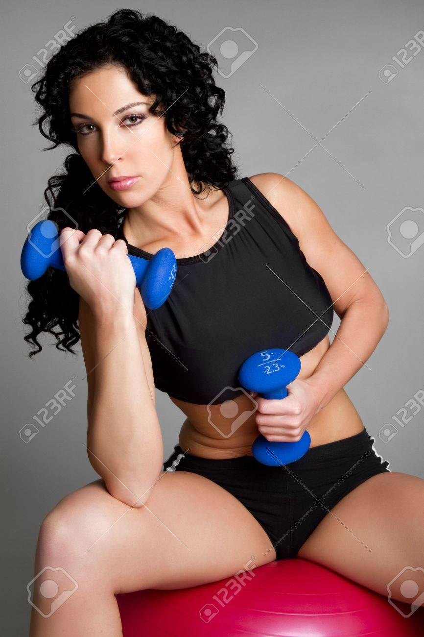 Fitness Woman Working Out Stock Photo - 6477217
