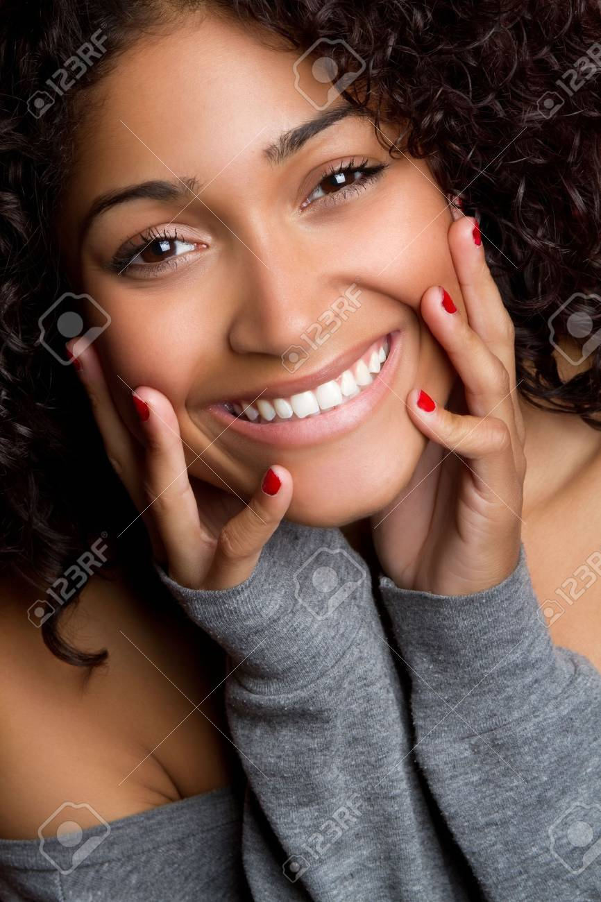 Young Black Woman Stock Photo - 6789621