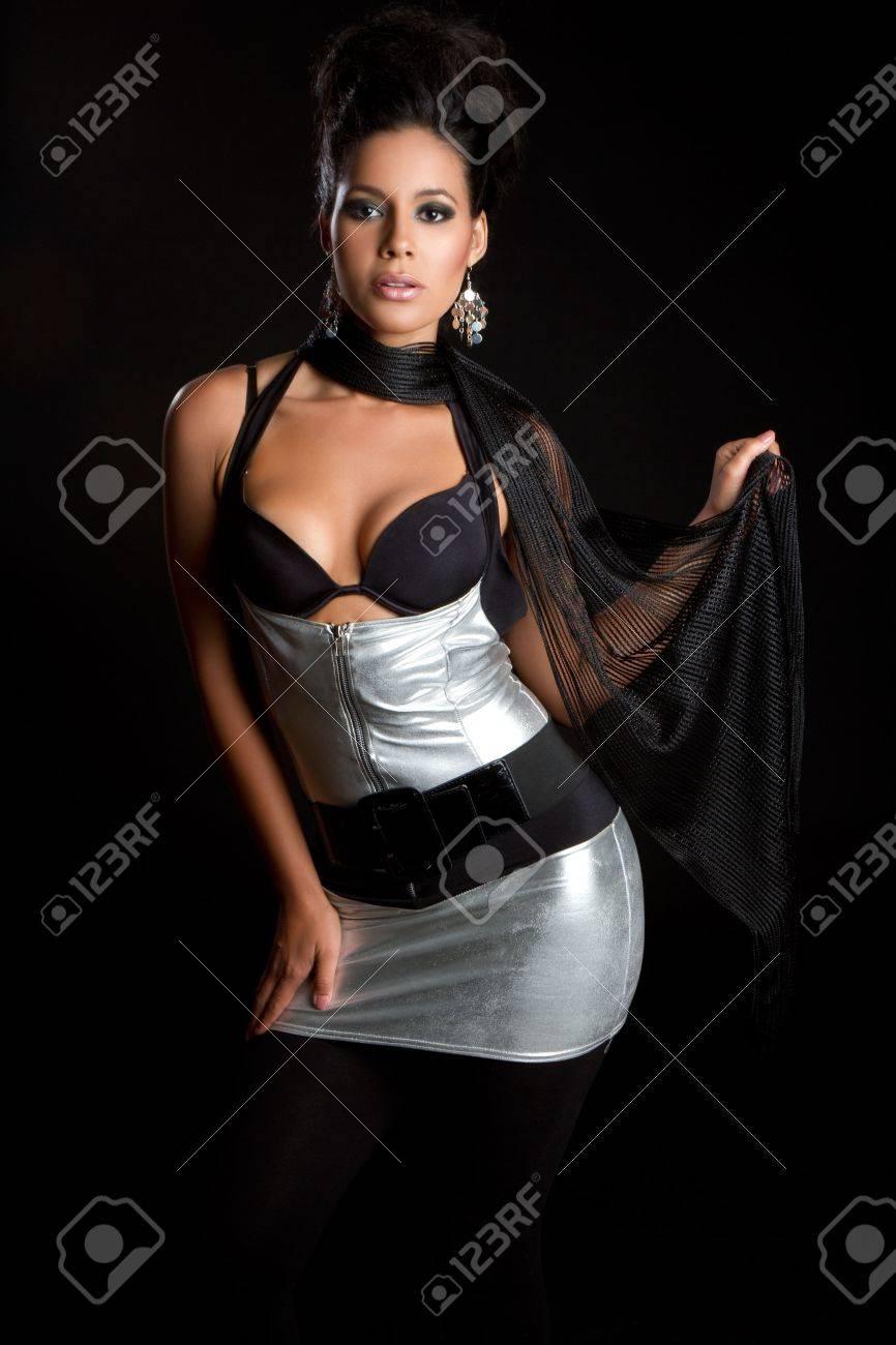 Beautiful latina fashion model woman Stock Photo - 7007444
