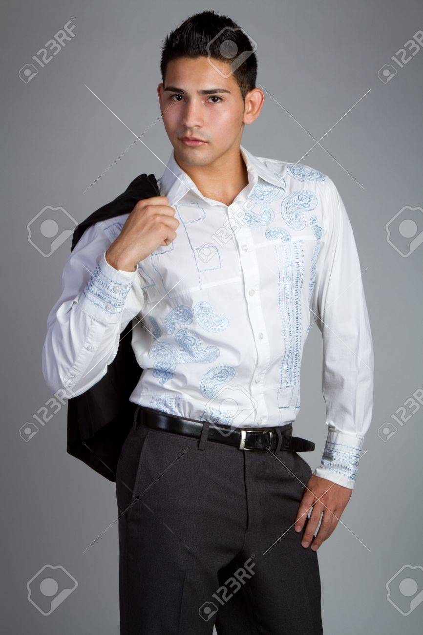 Man wearing business fashion clothes Stock Photo - 11215873