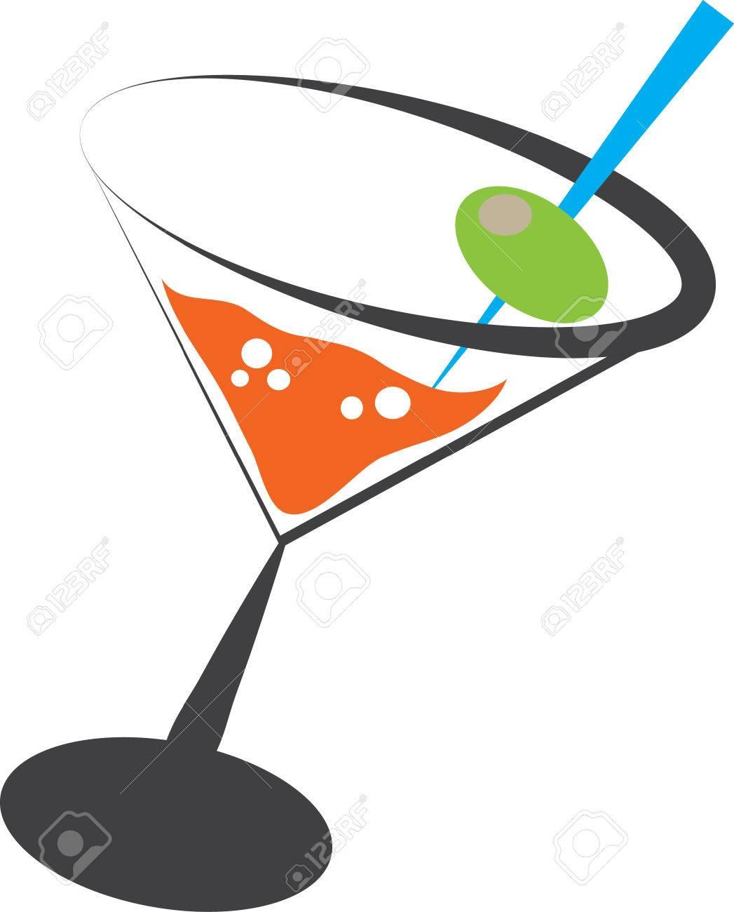 Martini Stock Vector - 8235141