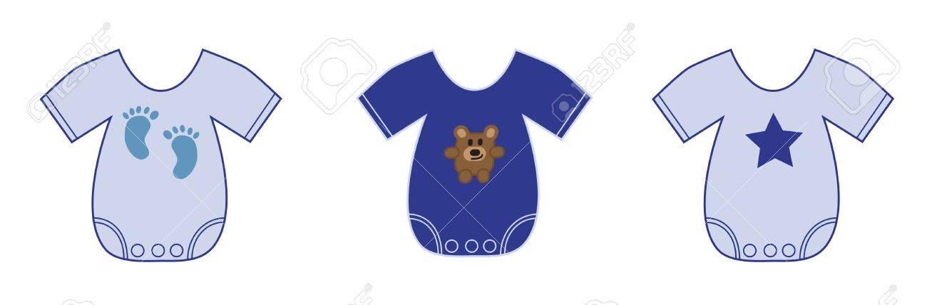 Baby Boy Clothes Stock Vector - 10229644