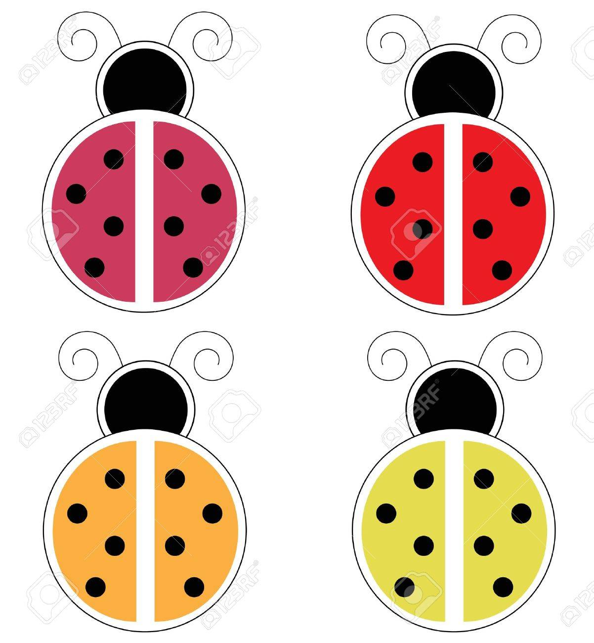 Ladybugs Stock Vector - 11085385