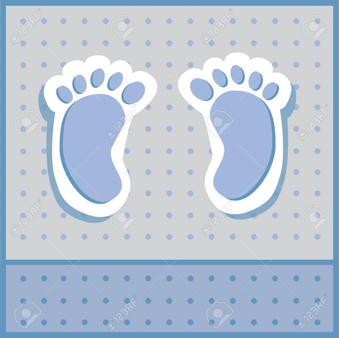 baby boy feet royalty free cliparts vectors and stock illustration