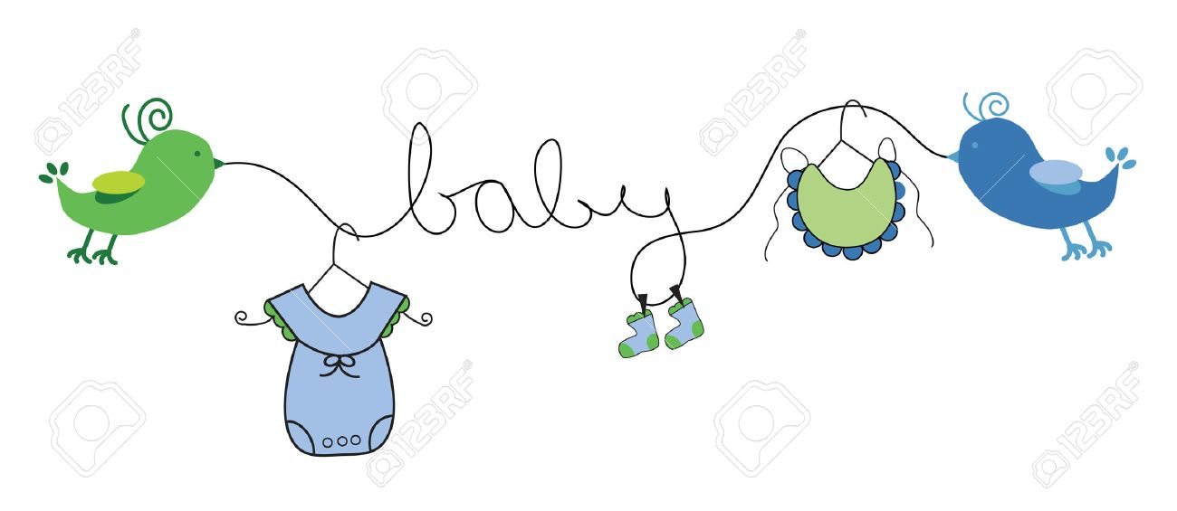 Baby Boy Clothes Line - 26109207