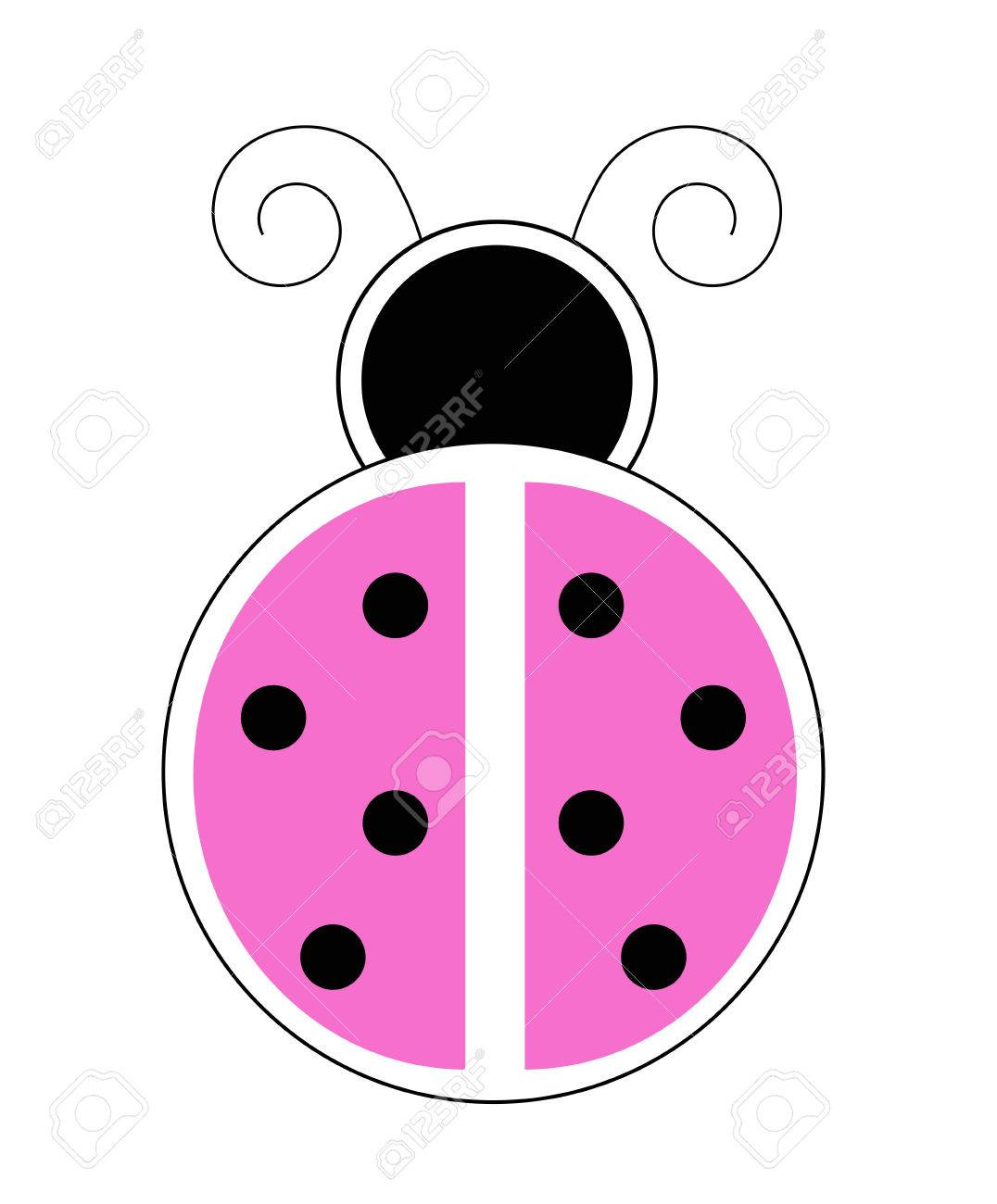 Pink ladybug royalty free cliparts vectors and stock illustration pink ladybug stock vector 60160209 stopboris Images