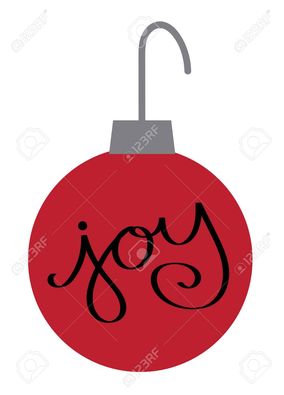 Christmas Joy Ornament Illustration Royalty Free Cliparts Vectors And Stock Illustration Image 92169367