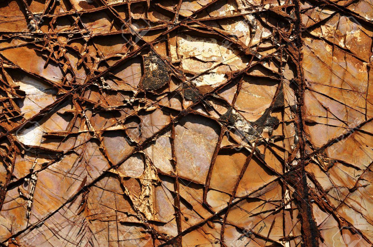 abstract natural texture cracked rock. Good natural background Stock Photo - 8106867