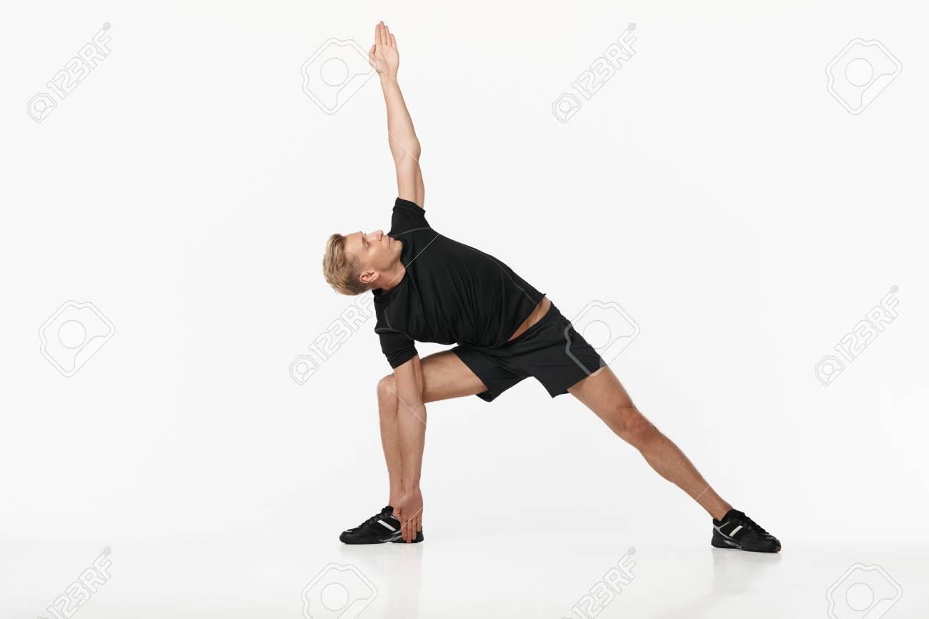 Man doing exercise - 90088321