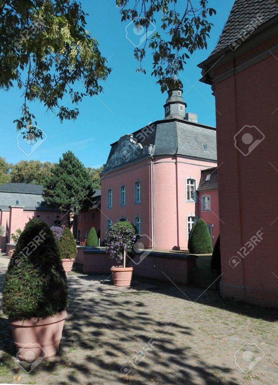 Castle Wickrath - Building of the castle of Castle Wickrath, Germany, Wickrath 10/12/2016 - 68769719