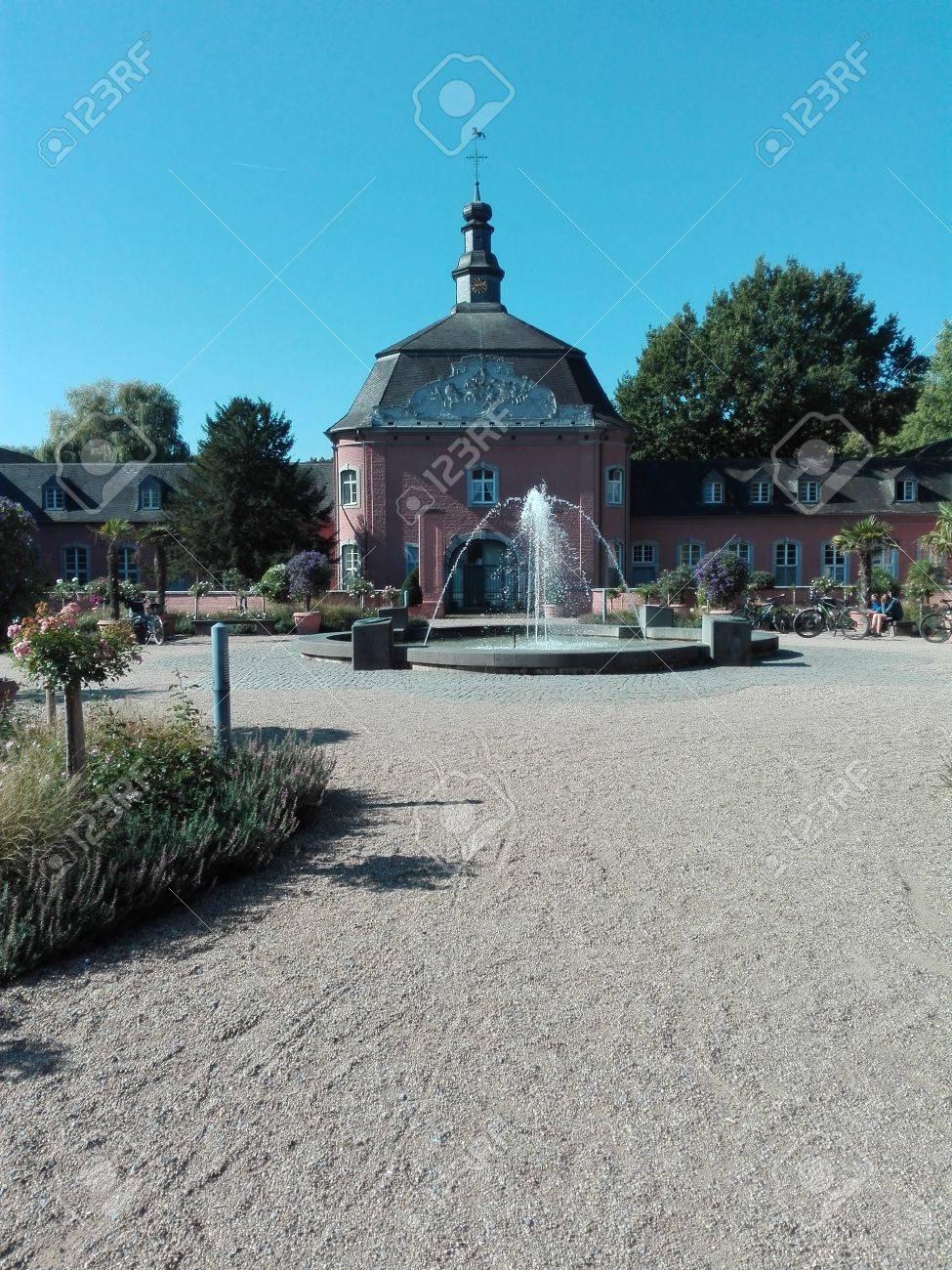 Castle Wickrath - Building of the castle of Castle Wickrath, Germany, Wickrath 10/12/2016 - 68769721