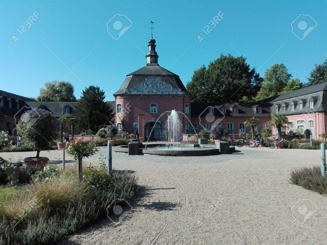 Castle Wickrath - Building of the castle of Castle Wickrath, Germany, Wickrath 10/12/2016 - 68769722