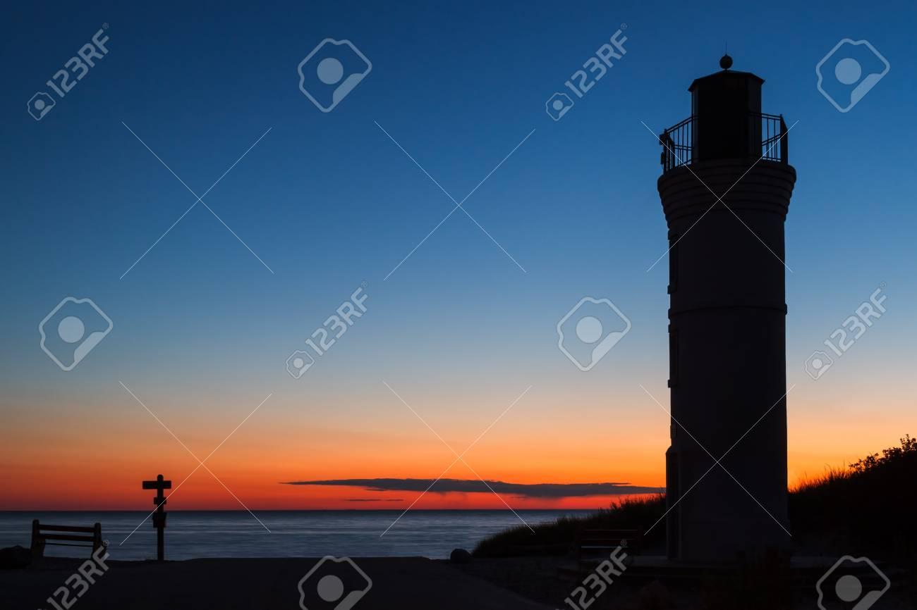 Sunset Lighthouse Stock Photo - 14488220