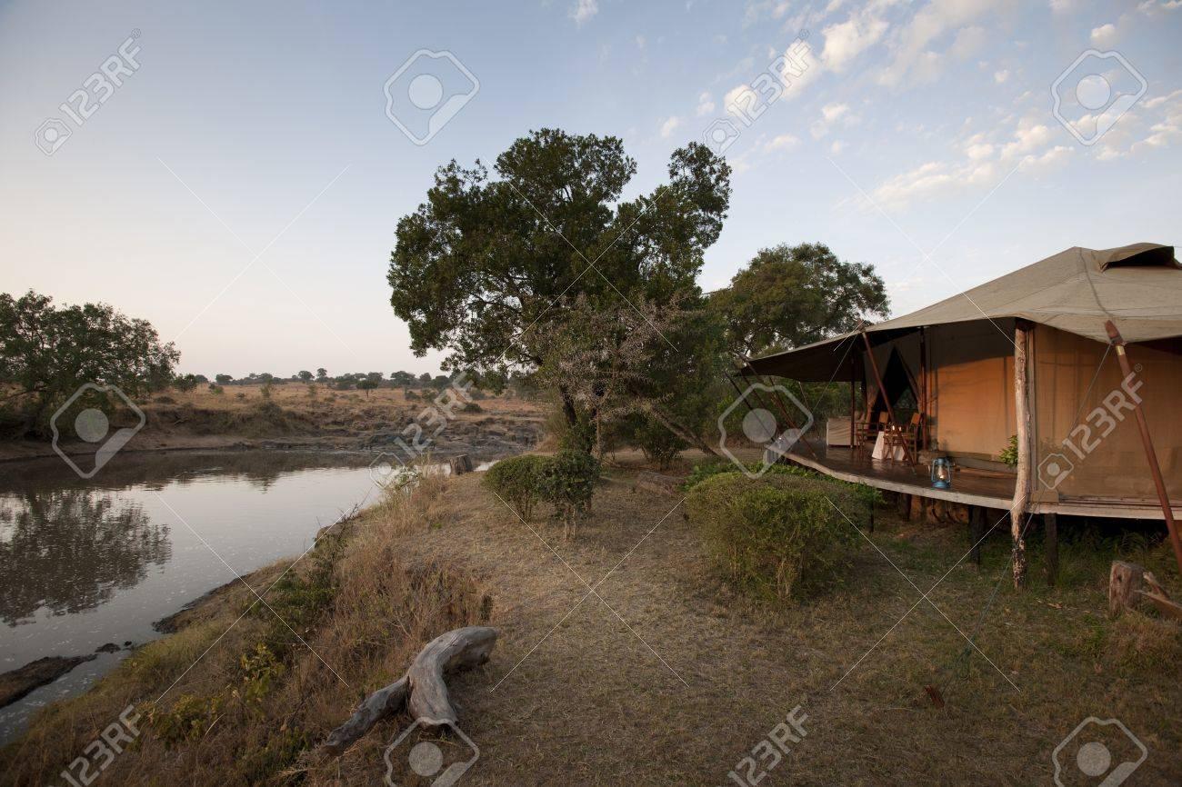 Ngare Serian Tented Camp in Kenya Stock Photo - 7188409