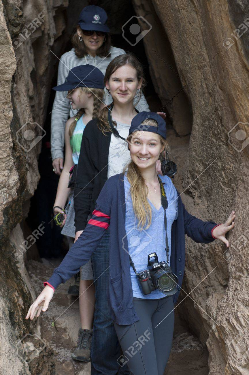 Friends at Archaeological Park of Pisac, Pisac, Sacred Valley, Cusco Region, Peru Stock Photo - 17227800