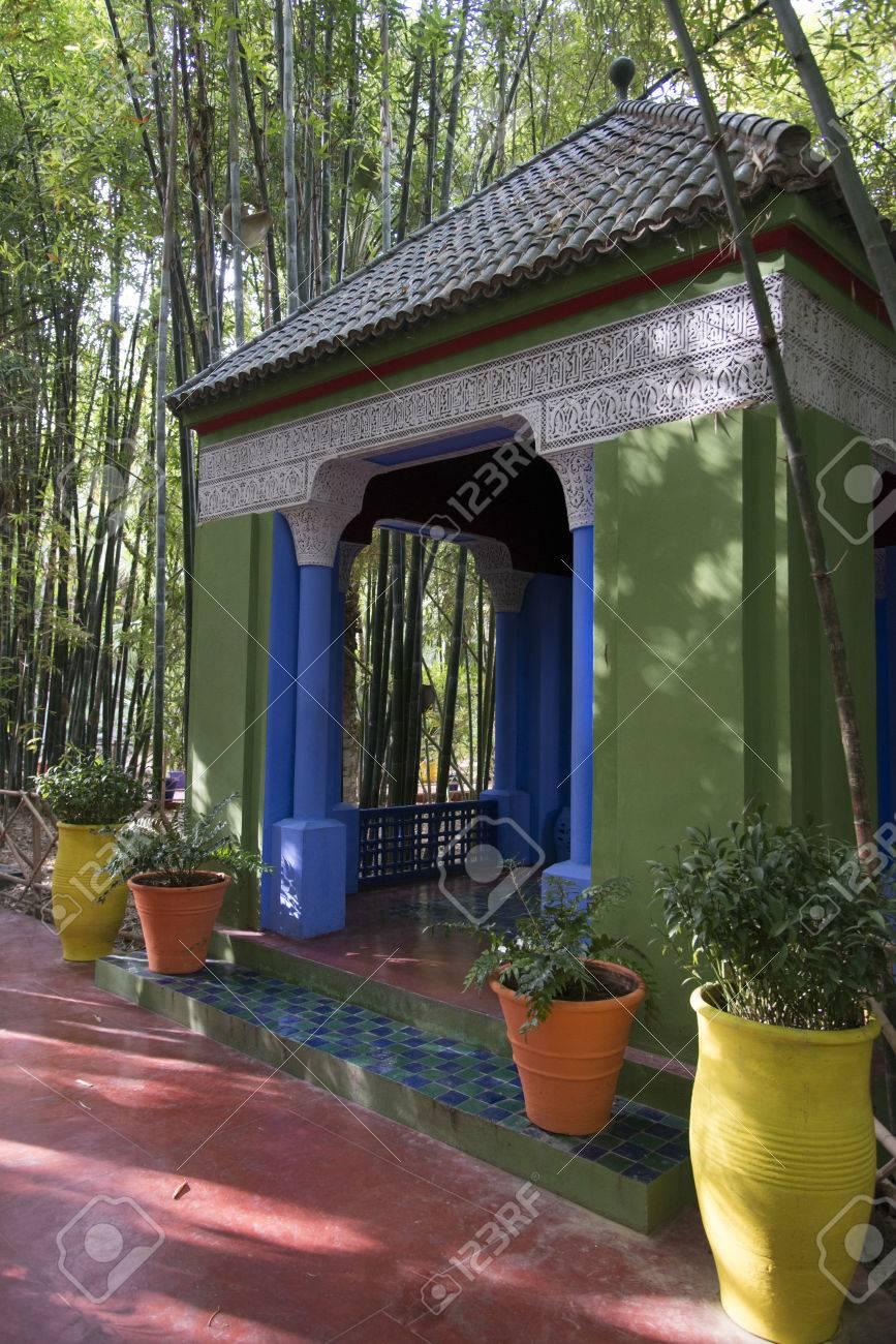 Jardin Majorelle A Marrakech Maroc Banque D Images Et Photos Libres