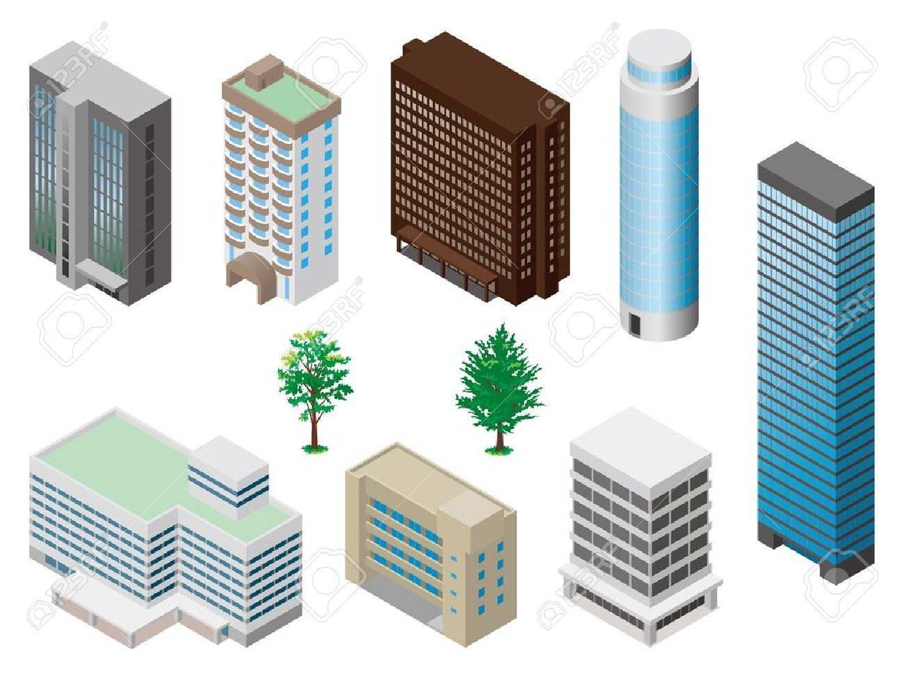 Models of buildings - 12219691