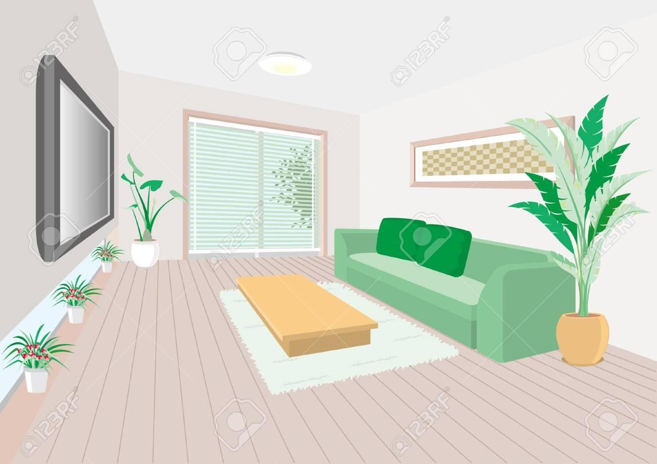 Living room Stock Vector - 12219696