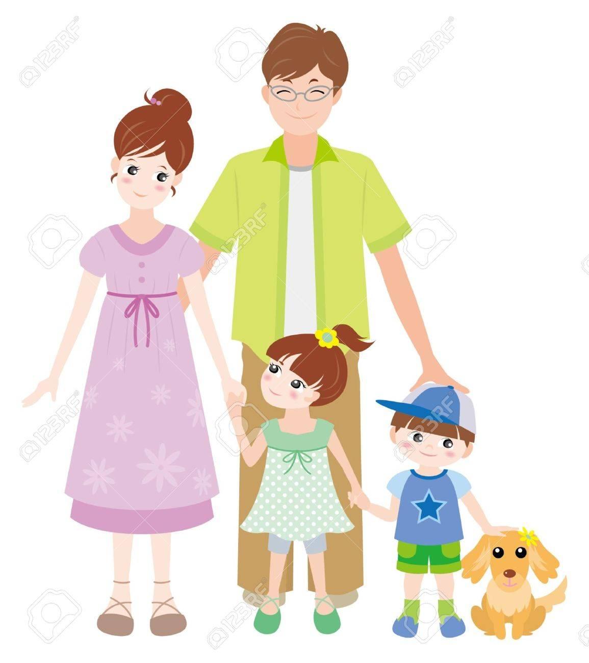Family / Summer Stock Vector - 12397865