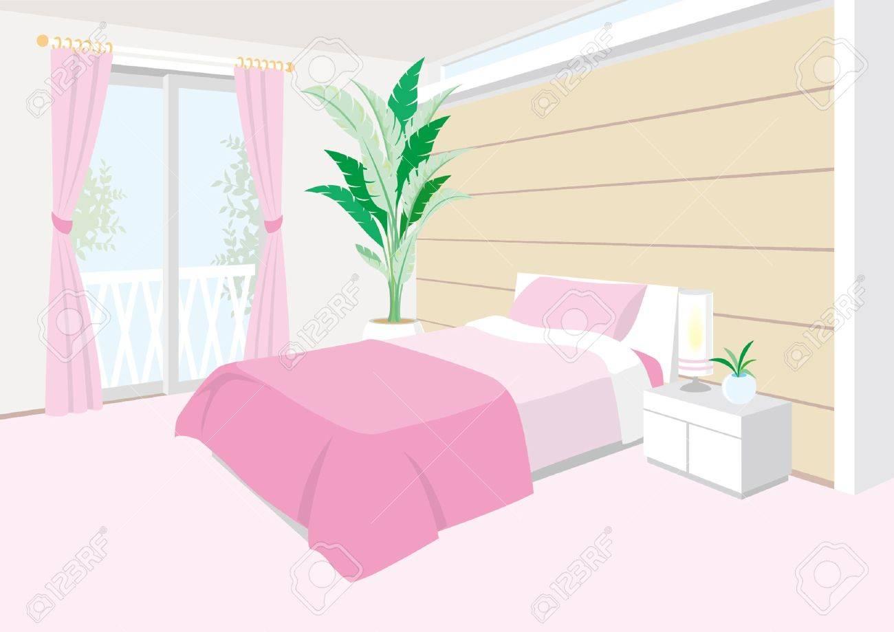 Bedroom Stock Vector - 12397923