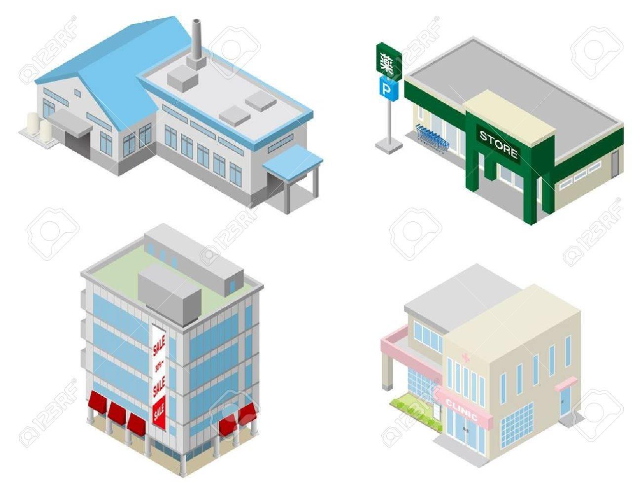 Building Stock Vector - 15168991