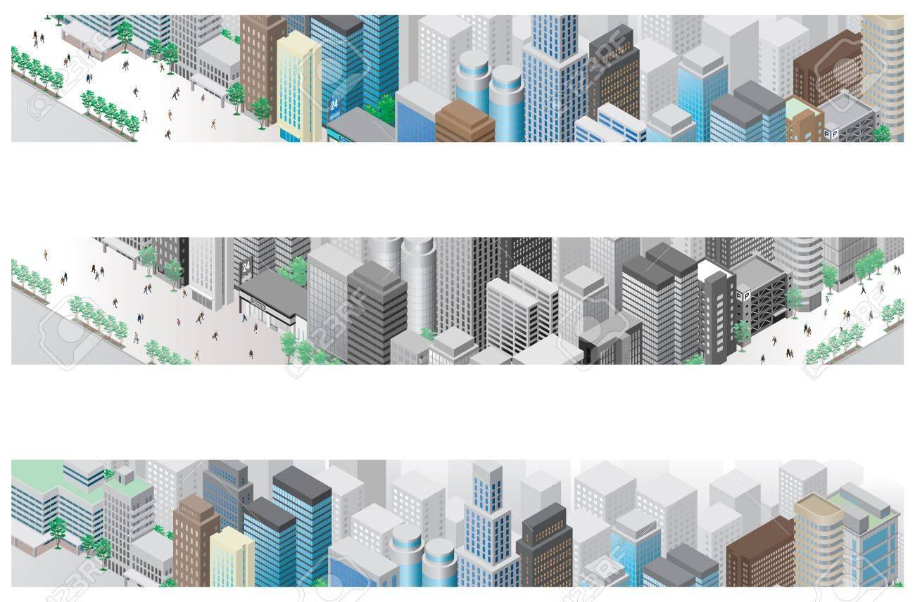 Illustration / Townscape Stock Illustration - 16443247