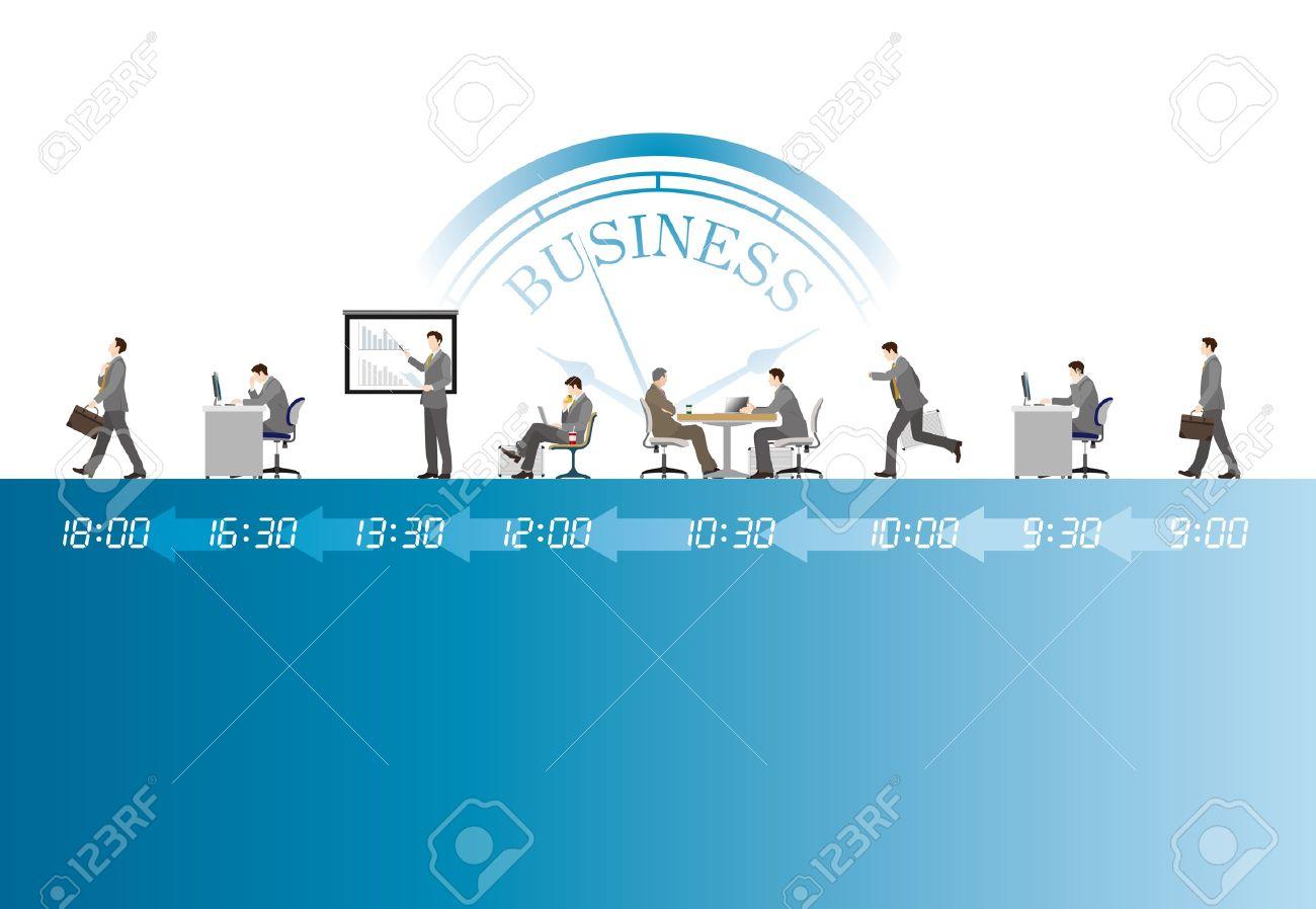 Businessman Work - 19879491