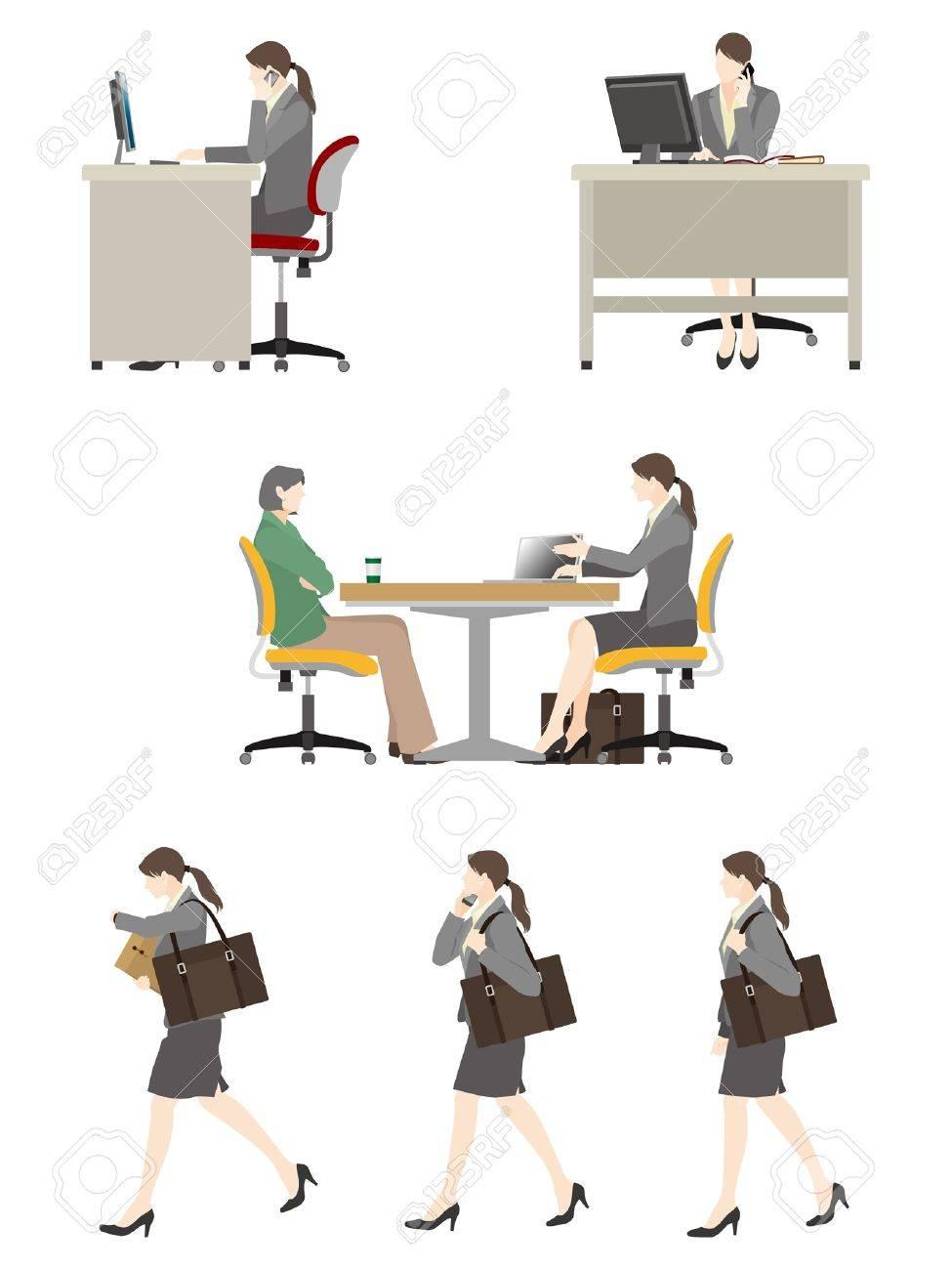 Businesswoman / Work - 19879499