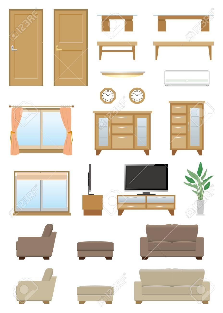 Living room furniture - 20417299