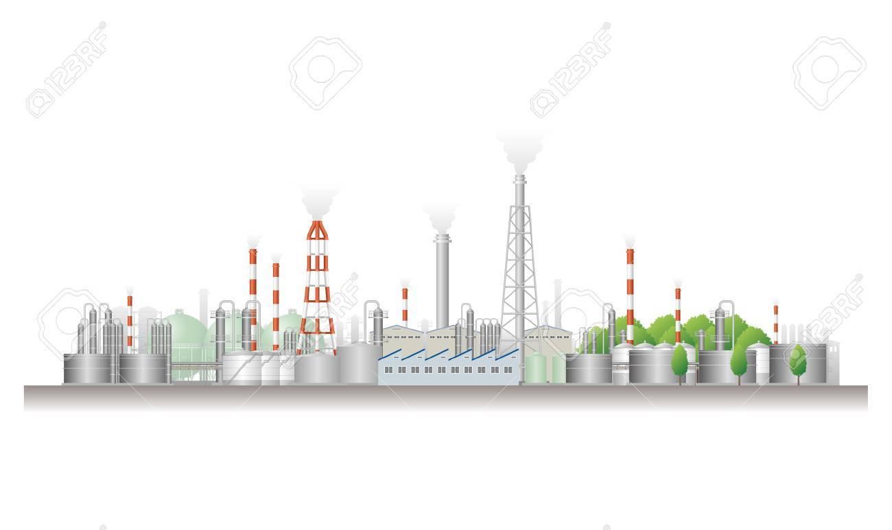 Landscape of factory - 24965100