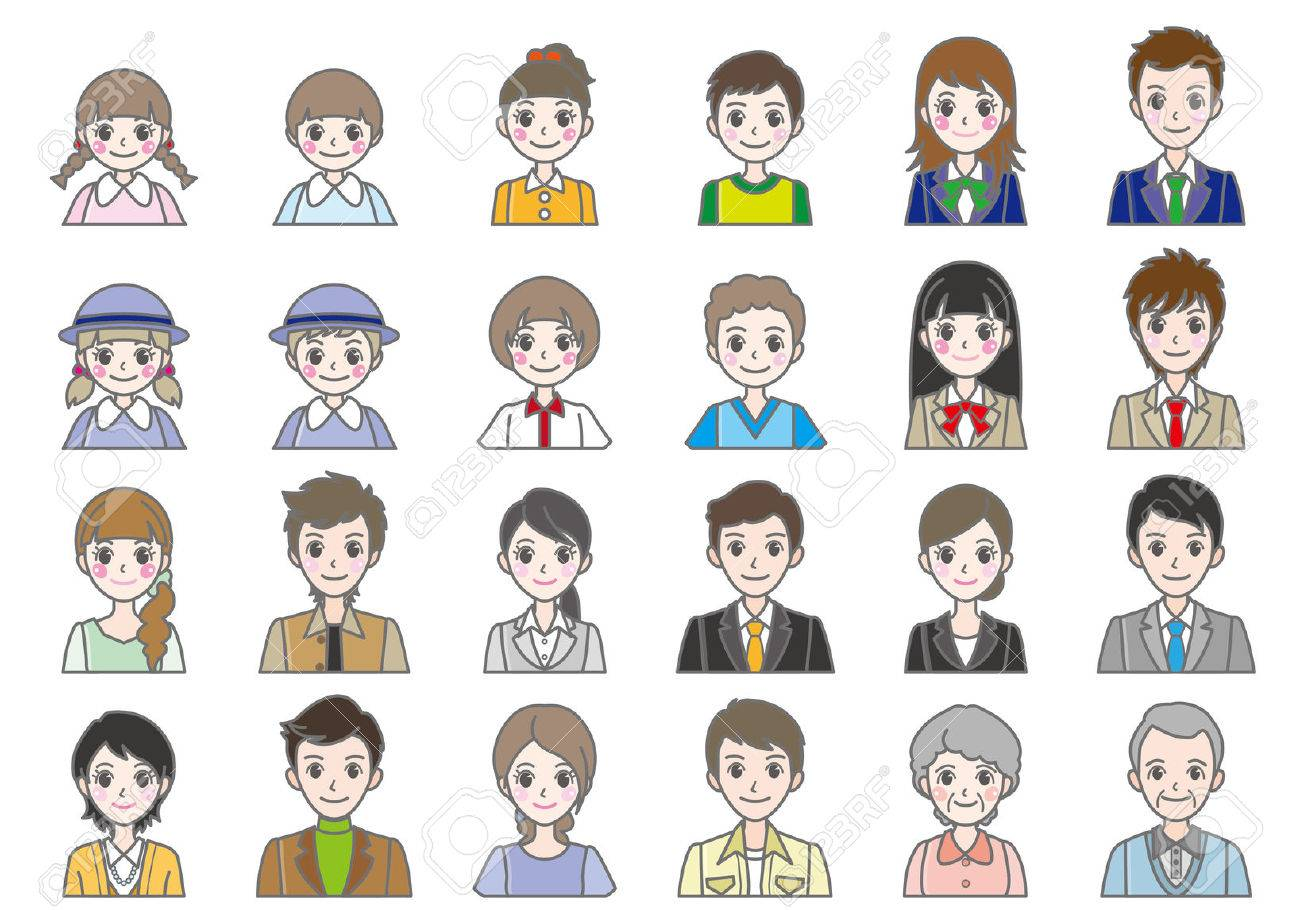 Various person Face - 27117282