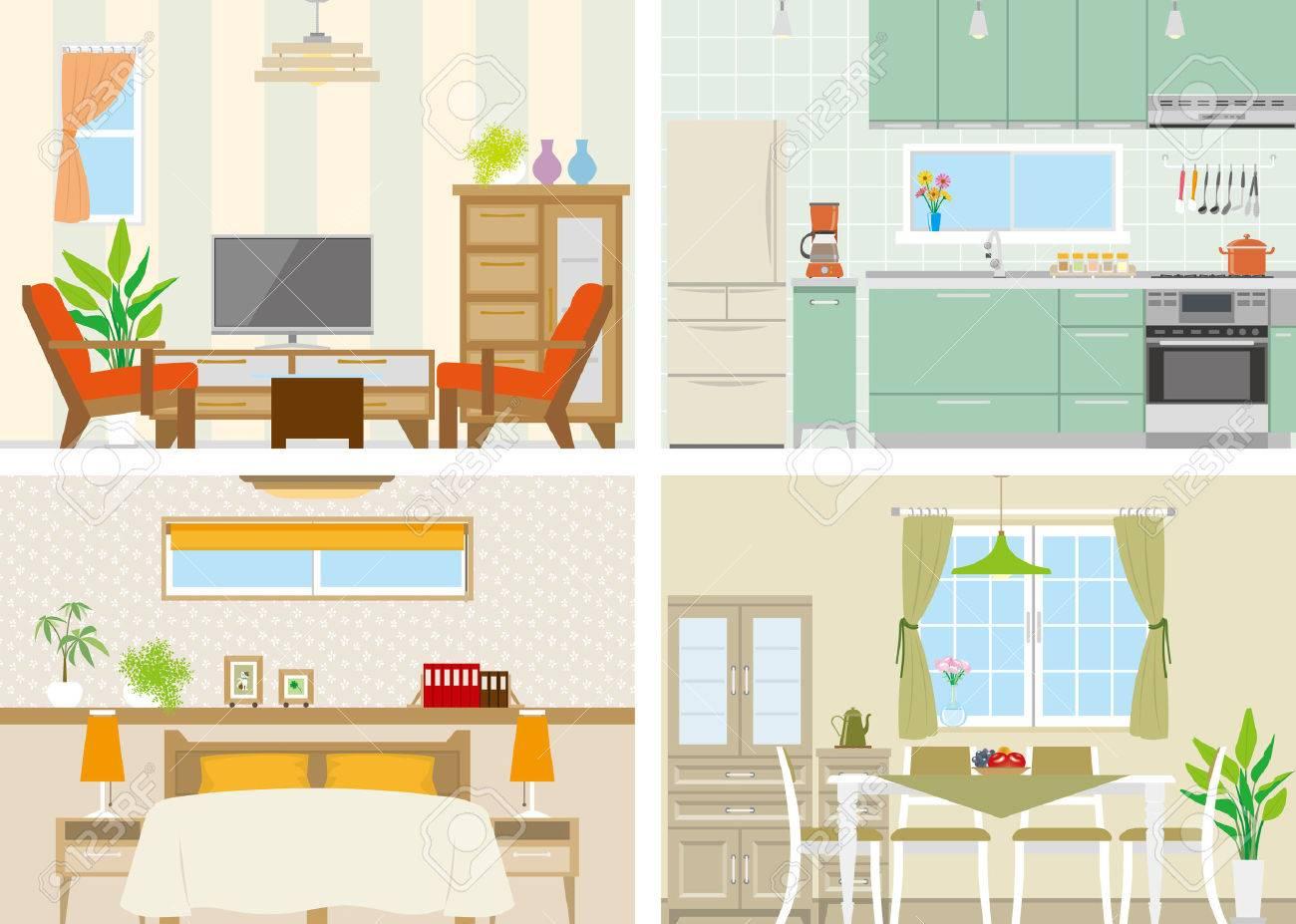 Illustration of room - 27734823