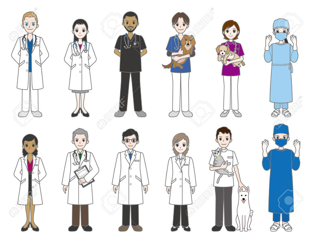 Doctor and veterinarian - 28984800