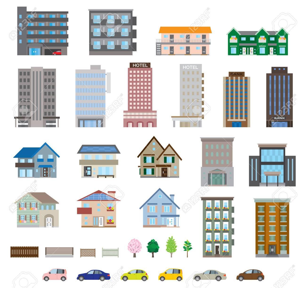 Various building - 35597650