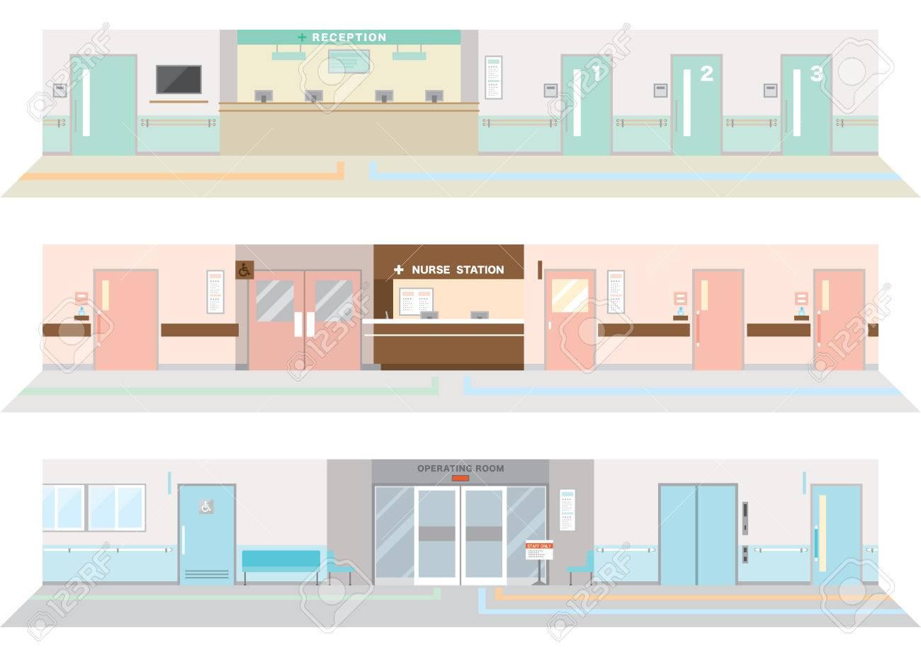 Illustration of the hospital - 36085459