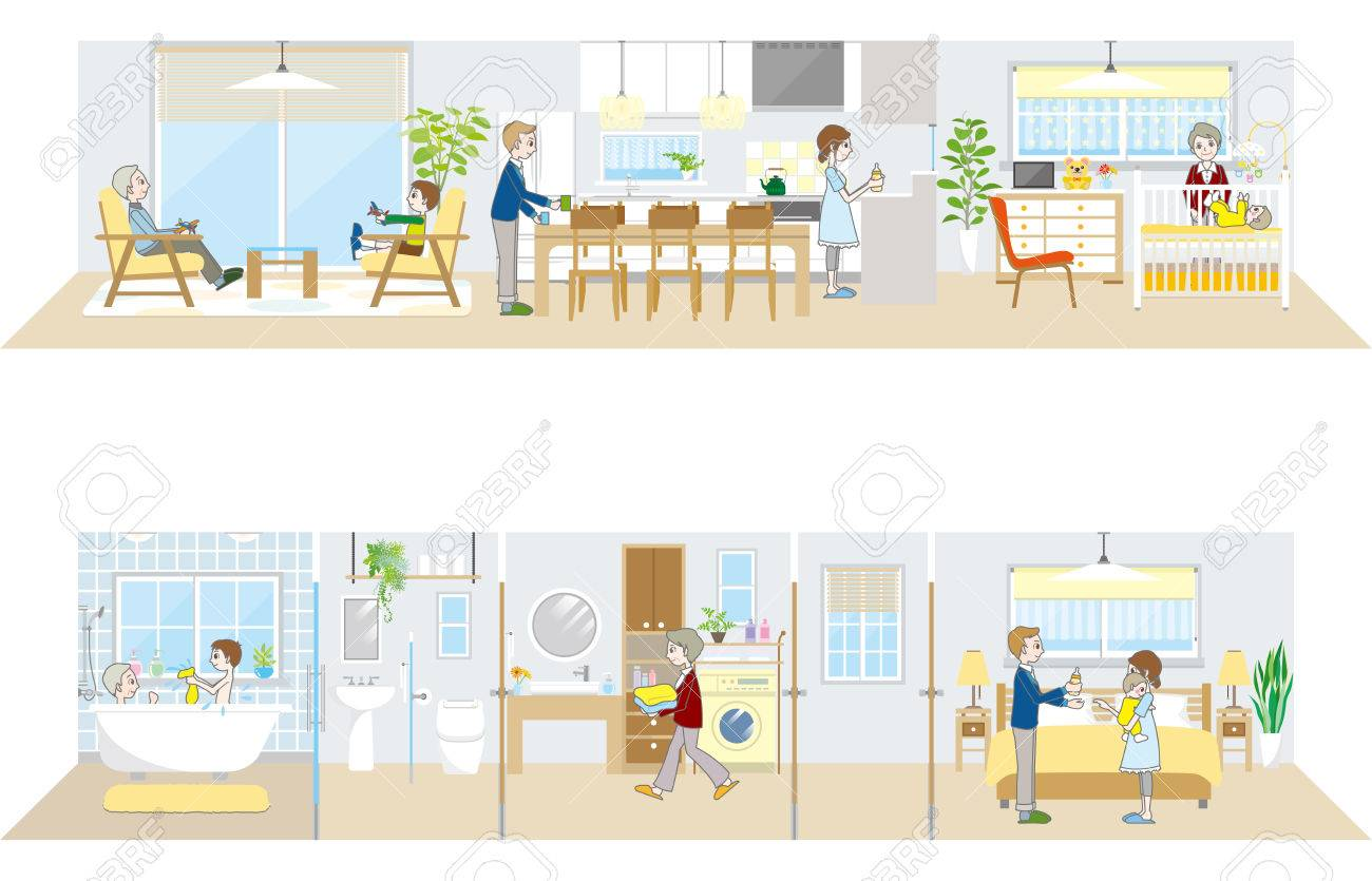 Living space Family - 43893098