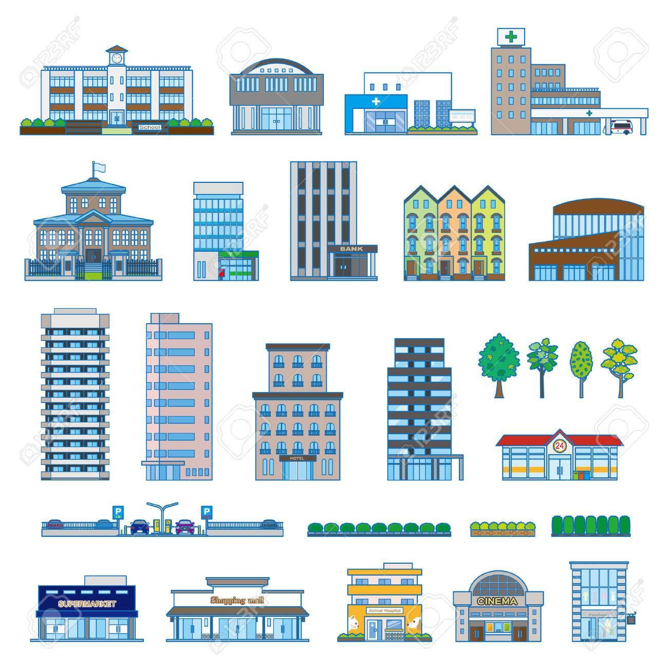 Various building - 51363049